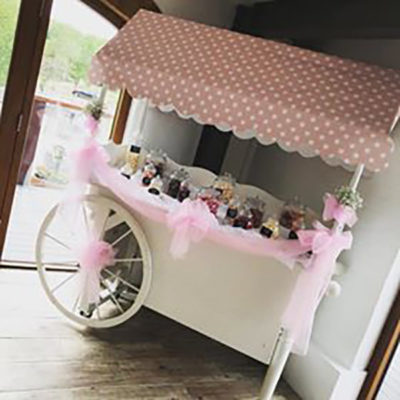decorated-candy-cart
